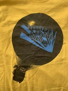 the sound of animals fighting shirt small vintage tour circa survive rx bandits