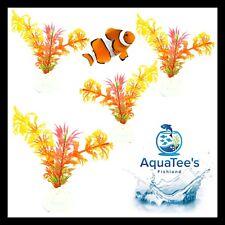AQUARIUM FISH TANK PLANT DECORATION 10CM NANO POND AQUA ARTIFICIAL FRESH WATER