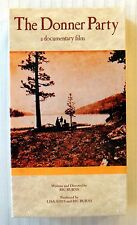 The Donner Party ~ New VHS Movie ~ Ric Burns Documentary Film Video ~ Pioneers