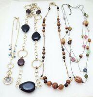 Lia Sophia Choice of 1 Necklace  CHESTNUT, TIKI, TRIAD, or TRIBECA