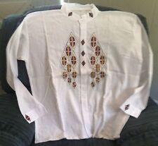 Shirt, Unique Ecuadorian Style Size L (Shirt #10)