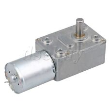 DC 12V 0.6RPM Low Speed High Torque Turbo Reducer Motor Right Angle Gear