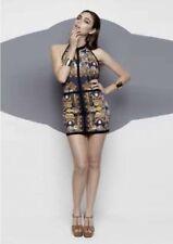 Cotton/Spandex Halter Sleeve Dresses for Women