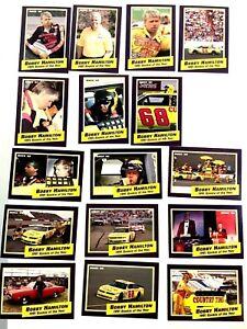 Nascar Lisc 1992 MAXX Bobby Hamilton 1991 Rookie of the yr:16 card set W/Wrapper