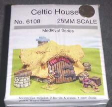 Celtic House - 25mm Medieval Series - #6108 - JR Miniatures <NEW> OOP