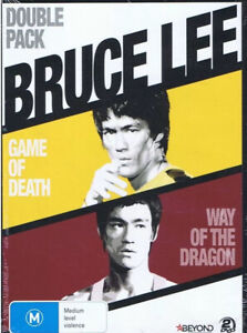 BRUCE LEE Double Pack: Game Of Death + Way Of The Dragon (2x DVD Set Region 4