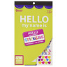 Darice Hello My Name Is Labels Badges Sticker Book 9.5 x 6 inches 436 Stickers