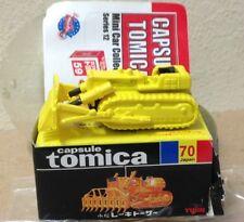 Capsule Tomica ConstructIon 70 Track Loader Bulldozer 2006 series 12 Yujin mini