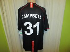 "Manchester United Nike Trikot 2007/08 ""AIG"" + Nr.31 Cambell + Signiert Gr.XL Neu"