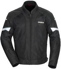 Cortech Mens Black/White VRX Air 2.0 Textile Mesh Motorcycle Jacket