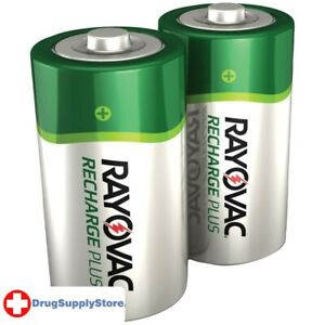 PE Ready-to-Use NiMH Rechargeable Batteries (C; 2 pk; 3,000mAh)