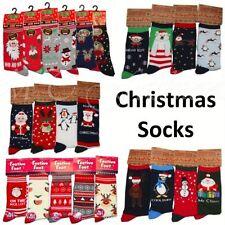 Christmas Cotton Blend Singlepack Socks for Women
