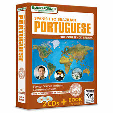 FSI: Spanish to Brazilian Portuguese (2 CDs/Book) by Foreign Service Institute