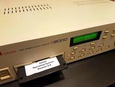 Akai - S2000 - Midi Sampler  - Vintage + System- Disk 2.0 - Einsatzbereit!!!