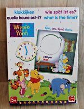 Jeu éducatif pour apprendre l'heure avec Winnie L'ourson - Quelle heure est-il?