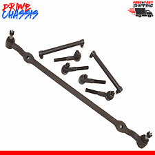 7 PC Kit Steering Parts Dodge D100 D300 2WD Center Link Tie Rod End Sleeve 79-93