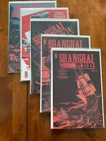 Shanghai Red 1 2 3 4 5 1-5 Comic Complete Set