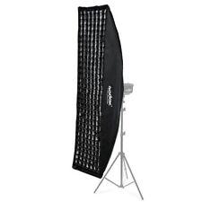 Godox Softbox 35x160cm rettangolare strip con attacco bowens griglia nido d'ape