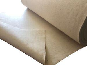 Filz Wollfilz Bastelfilz Filzunterlage naturweiß, 5mm, breite 154cm, Laufmeter