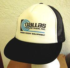 DALLAS INDUSTRIES trucker cap Press Room Equipment hat coil handling systems 90s