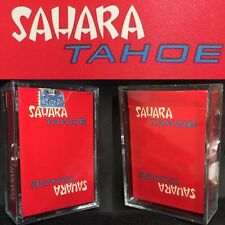 c1965 Sahara True 1st Edition Vegas vTg Casino Playing Cards Poker Red Deck