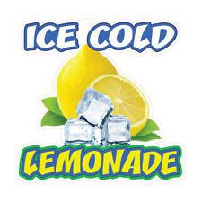 Food Truck Decals Lemonade Concession Restaurant Die Cut Vinyl Sticker P22