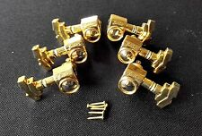 NEW JINHO Deluxe TUNER 3X3 Tuning Machine GOLD for Gibson Les Paul SG Guitar
