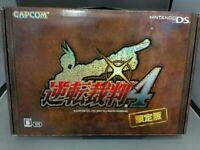 Ace Attorney Gyakuten Saiban 4 limited edition nintendo DS