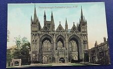 POSTCARD: PETERBOROUGH CATHEDRAL FROM N.W.: UN POSTED