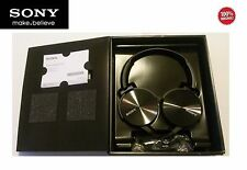 Sony MDR-XB450AP Extra Bass Smartphone Stereo Headphones Apple PS4 Android - Blk