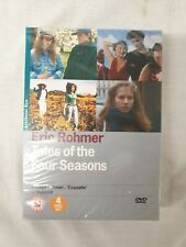 Eric Rohmer - Tales of the Four Seasons (DVD 4 disc Box set) #490