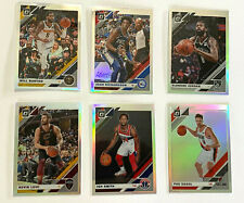 New listing 2019-20 Donruss Optic holo refractor lot of 6 basketball cards