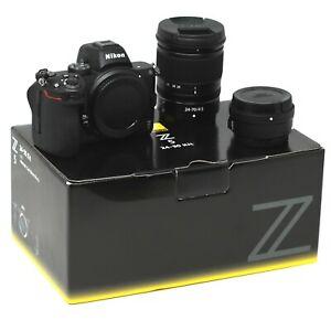 Nikon Z5 Mirrorless Camera + Z 24-70mm f/4 S + FTZ Mount Adap - UK NEXT DAY DEL