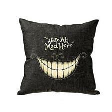 Smile Printed Pillow Case Sofa Waist Throw Cushion Cover Home Decor B1