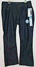 NWT! Women's RIDERS BY LEE Slender Stretch Bootcut Denim Jeans, Size 18M