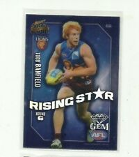 2011 AFL SELECT CHAMPIONS RISING STAR GEM BRISBANE LIONS TODD BANFIELD RSG6 CARD