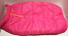 New listing Boots and Barkley Bright Pink Puffer Fleece Lined Dog Jacket - S, M, or Xl