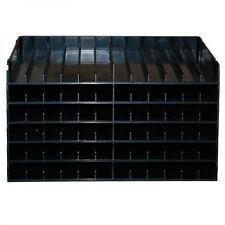 Crafters Companion Spectrum Noir Ink Pen Storage Unit Black 6 Trays for 72 Pens