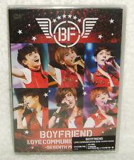 Boyfriend Love Communication 2013 -Seventh Mission- Taiwan 2-DVD+Poster+Card
