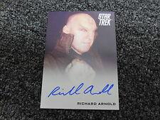 2014 Star Trek The Movies Into Darkness - Richard Arnold as Romulan Autograph