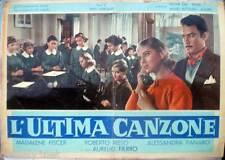 fotobusta '58 L'ULTIMA CANZONE-Roberto Risso-Alessandra Panaro-Madalene Fiscer-3