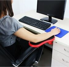 Red PC Computer Laptop Arm Wrist Rest Desk Table Pad Support Health Care Forearm