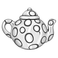 Lovelinks Bead Sterling Silver, Teapot Charm Spacer Design Fashion Jewelry TT173