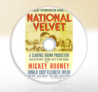 National Velvet (1944) DVD Classic Drama Movie / Film Mickey Rooney