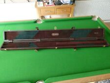 New genuine leather case for 3/4 snooker cue