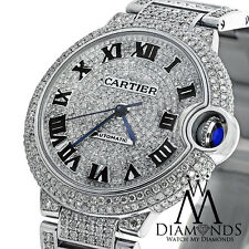 Cartier Ballon Bleu W6920071 Automatic Diamond Watch Complete with Box & Papers