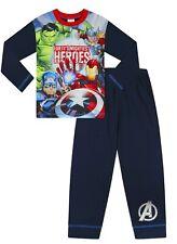 Boys Marvel The Avengers Hulk Iron Man Captain America Pyjamas 5 to 10 Years