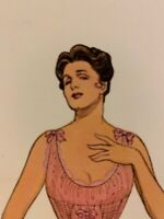 Gibson Girl 1890s -1910 American Fashions Historical Paper Doll Book Vintage 80s