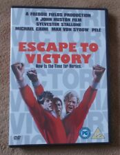 DVD - Escape To Victory - Sylvester Stallone / Michael Caine - VGC - R2  PAL