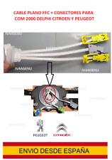 cable plano FFC + CONECTORES com 2000 AirBag citroen C4 C5 peugeot DELPHI